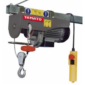 PARANCO ELETTRICO A FUNE 18 MT YAMATO 500W 125/250 KG
