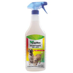 SPRAY DISABITUANTE PER CANI E GATTI PAPILLON 750 ML