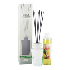 Diffusore di fragranza con bastoncini GISA LINEA white 100 ml