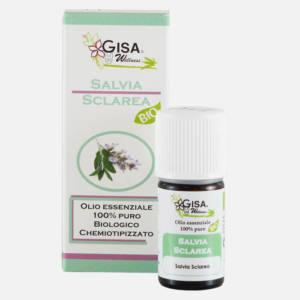 Olio essenziale di Salvia sclarea BIO Gisa 10 ml