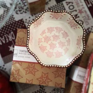 Tortiera Ceramica Forma Ottagono H&H Grace Rossa Ø 15 cm H 7 cm