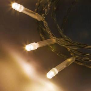 Catena XMB 10 LED CLASSIC 5mm Luce Fissa a Batteria Interno 0,3+0,9m