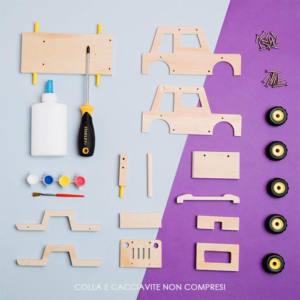Kit costruzione per bambini Modellino Auto Fuoristrada Stanley Jr Junior