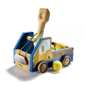 Kit costruzione per bambini Modellino Camion Catapulta Stanley Jr Junior
