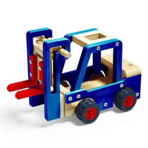 Kit costruzione per bambini Modellino Carrello elevatore Stanley Jr Junior