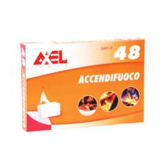 ACCENDIFUOCO A TAVOLETTA CHEROSENE BLISTER 50 PEZZI AXEL