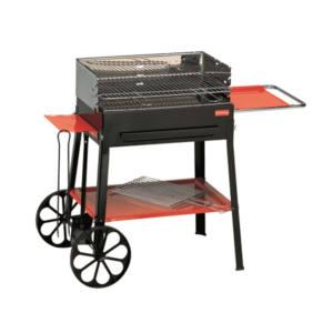 Barbecue Imperial Doppio braciere Griglia acciaio 107X56X88 cm Ferraboli