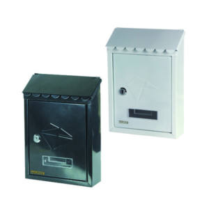 Cassetta Lettere Posta Acciaio verniciato Bianco 300x210x68 mm Maurer