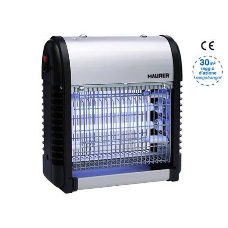 Elettrozanzariera raggio azione 30 m² 12 Watt Maurer