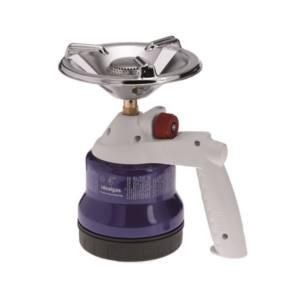 Fornellino gas campeggio cartuccia accensione manuale Idealgas fsto3nm