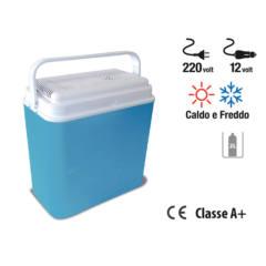 frigo box elettrico caldo e freddo spinotto 12V e spina 230V A+ papillon 25 l