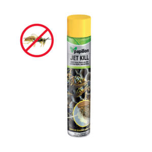 Insetticida spray antivespe nidi vespe schiumogeno jet kill Papillon 750 ml
