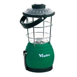 Lanterna campeggio a dinamo 12 LED con bussola integrata Papillon