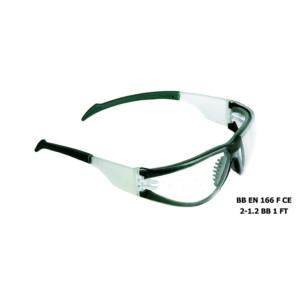 Occhiali protettivi stanghette fisse con lenti trasparenti Maurer