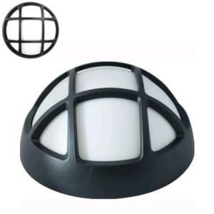Plafoniera LED griglia tonda nera 4 w 270 lumen 4000 k Ø 170 mm Maurer