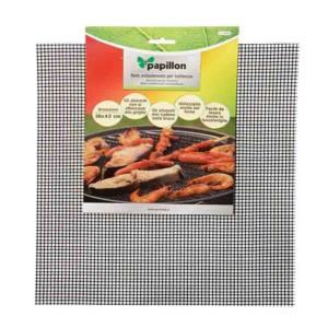 Rete antiaderente fibra di vetro barbecue rettangolare 36 x 42 cm Papillon