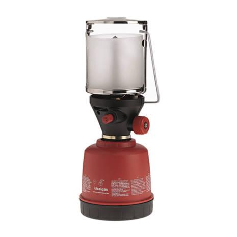 lampada gas campeggio cartuccia accensione piezoelettrica idealgas flig1p