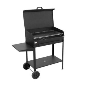 Barbecue VANESSA Con Ruote e Supporto 35X60X80 cm Mille