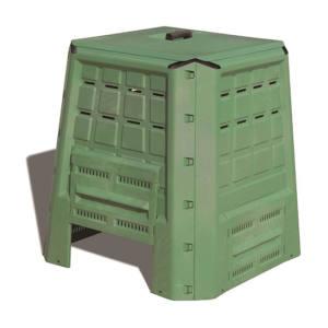 Biocompostiera in plastica indeformabile 380 litri 80X80X82 cm Art Plast