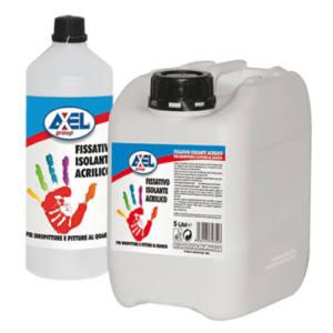 Isolante fissativo acrilico ad acqua Primer 5 Litri Axel