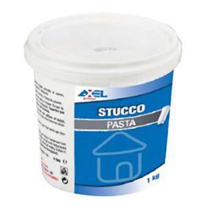 STUCCO UNIVERSALE IN PASTA BIANCO 1 KG AXEL