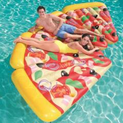 Materassino Gonfiabile PIZZA PARTY Bestway 44038 188X130 CM