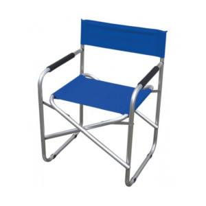 Sedia Regista Pieghevole Blu Tubolare Alluminio 56X46X80 cm Papillon