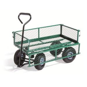 Carrello multiuso in metallo con ruote pneumatiche portata 150 kg Axel