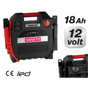 Avviatore emergenza Compressore JS 12/500 YAMATO 12V 18AH 500A