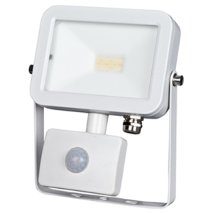 FARO LED IN ALLUMINIO 10 W CON SENSORE MOVIMENTO AXEL