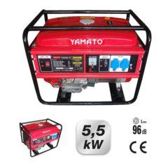 Motogeneratore scoppio G5500 Motore 4 tempi 389 cc 5,5 kW Yamato