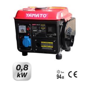 Motogeneratore scoppio G800 Motore 2 tempi 63 cc 0,8 kW Yamato