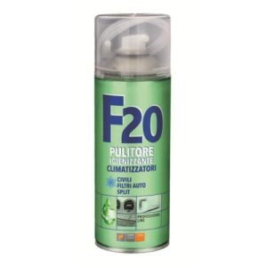 SPRAY IGIENIZZANTE PER CLIMATIZZATORI F20 400 ML