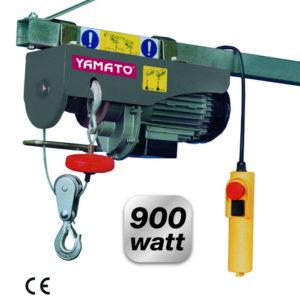 PARANCO ELETTRICO A FUNE 18 MT YAMATO 900W 250/500 KG
