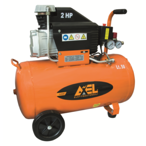 COMPRESSORE AXEL 50 LITRI 2 HP 8 BAR 2850 RPM