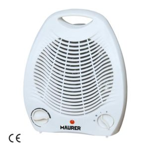 TERMOVENTILATORE con termostato SWIFT MAURER 1000 - 2000 W