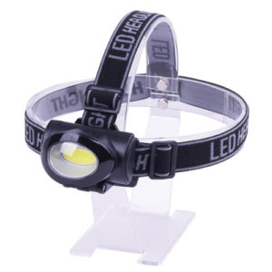 TORCIA DA TESTA LED IN ABS 3 W 200 LUMEN AXEL