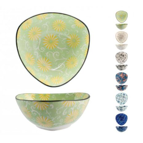 Coppetta Full Decoration in porcellana decori assortiti ø 15 cm H&H