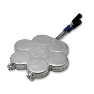 Stampo per tigelle in alluminio 7 posti made in Italy