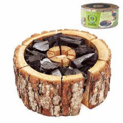 EcoGrill Barbecue Usa e Getta in Legno di Ontano 24 - 28 cm