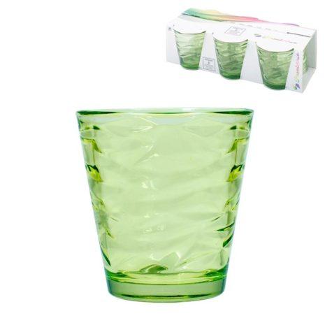 Set 6 Bicchieri Pasabahce Origami Verde 24,5 cl