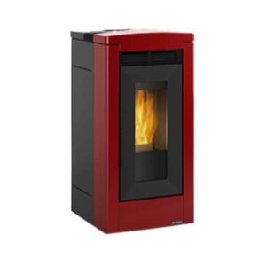 Stufa Pellet Brunella Elite Dal Zotto Bordeaux 12 KW