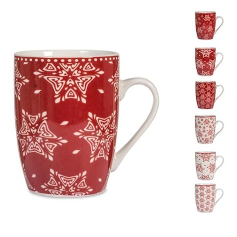 Mug new bone china decori assortiti GRACE H&H 350 cc
