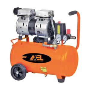 COMPRESSORE AXEL 24 LITRI 1 HP 8 BAR SILENZIATO OILLESS