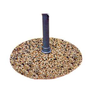 base graniglia per ombrelloni