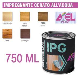 IMPREGNANTE FINITURA EFFETTO CERATO ACQUA 750 ML AXEL