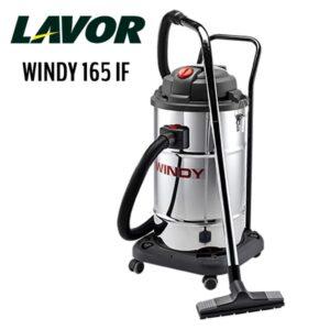 Bidone Aspirapolvere Aspiraliquidi Fusto Acciaio Inox Lavor WINDY 165 IF