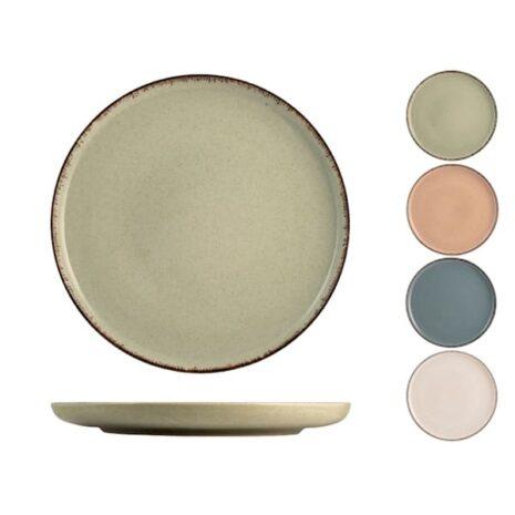 Piatto piano in porcellana decori assortiti Ø 27 cm Pearl H&H