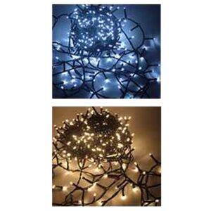 MINILUCCIOLE LED ESTERNO 1000 lampade Luce CHIARA e CALDA